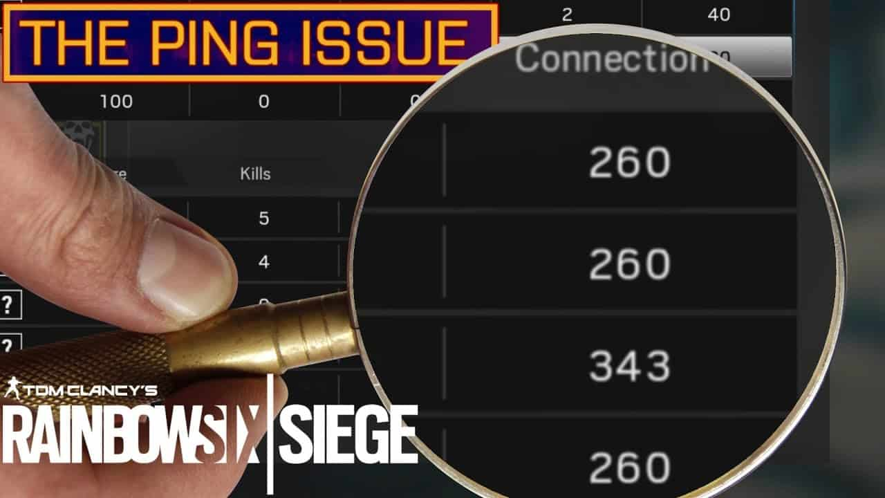 Rainbow Six Siege: How To Safely Remove Ping Lock | Kill