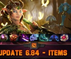 Dota 2 Patch 6.84 and Items Update Overview