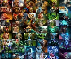 The Most Picked Heroes in Competitive Dota2