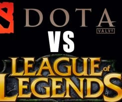 The epic MOBA battle