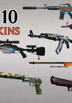 Top 10 CS:GO Weapon Skins To Crave For