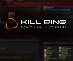 Reduce the lag in Dota 2 with Kill Ping