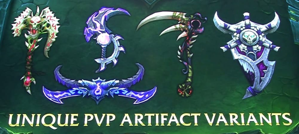 Artifacts In Legion Patch 7.0 Will Bring New Style To The Game   Kill Ping - Kill Ping
