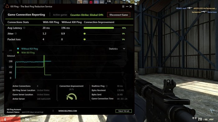 How to Reduce Your CS GO Lag - Kill Ping