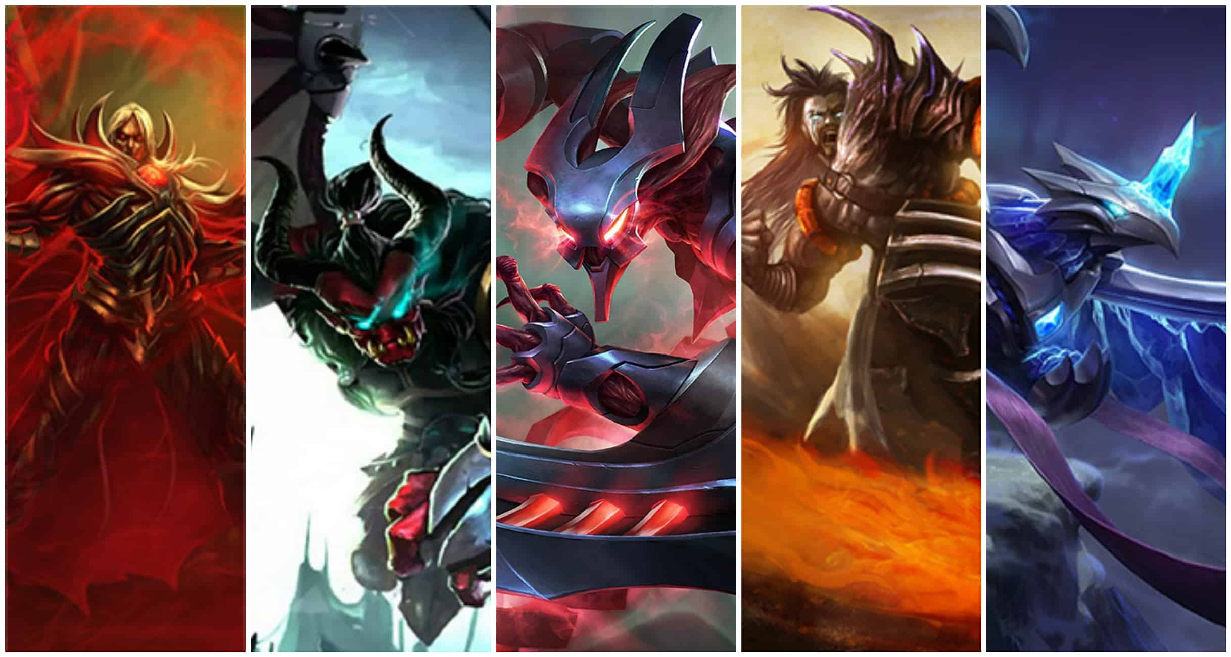 Top 5 League of Legends Legendary Skins - Kill Ping
