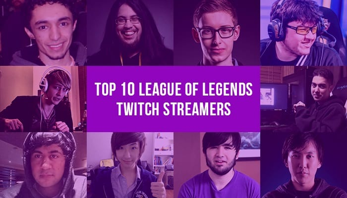 Top 10 Twitch Streamer