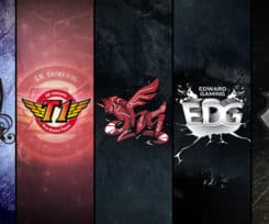 Top 5 League of Legends Teams by Kill Ping