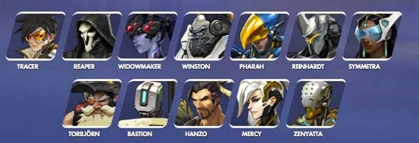 Roster-Overwatch