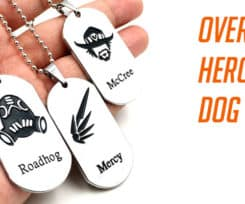 All New Overwatch Dog Tags Have Just Arrived