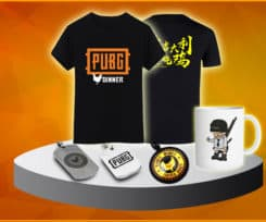 Introducing PUBG Merchandise at Kill Ping Online Store
