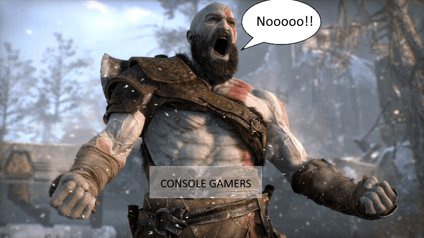 Consoles Might Lose the Battle As God of War Gets Cracked