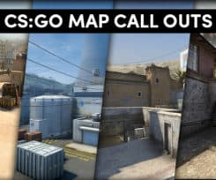 CS:GO Callouts for Active Duty Map Pool 2018