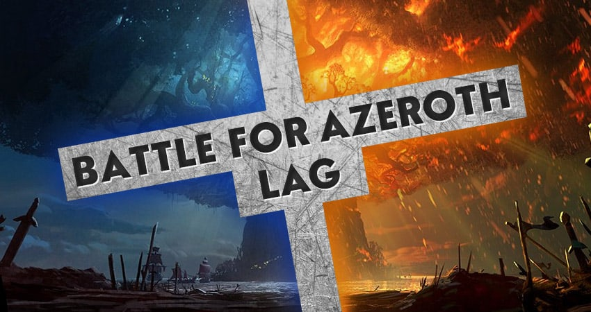 World Of Warcraft: Battle For Azeroth Lag Fix - Kill Ping