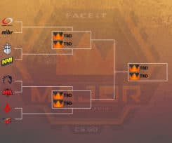 FACEIT Major 2018 Quarter Finals Teams Decided