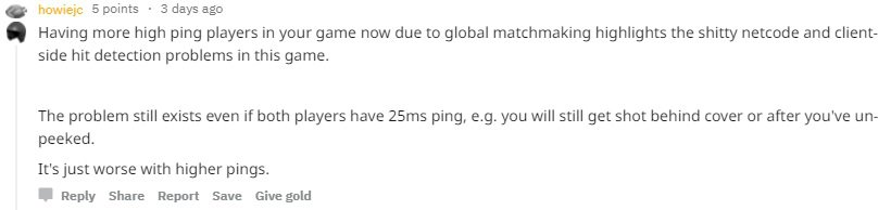 What is matchmaking region