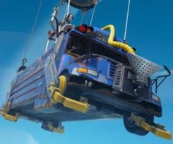 Fortnite Battle Bus Gets Equipped With An Engine Upgrade