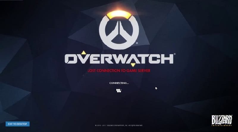 cant connect to overwatch servers