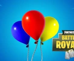 Fortnite v6.21 Adds Balloons, Glider Re-deploy Changes And More