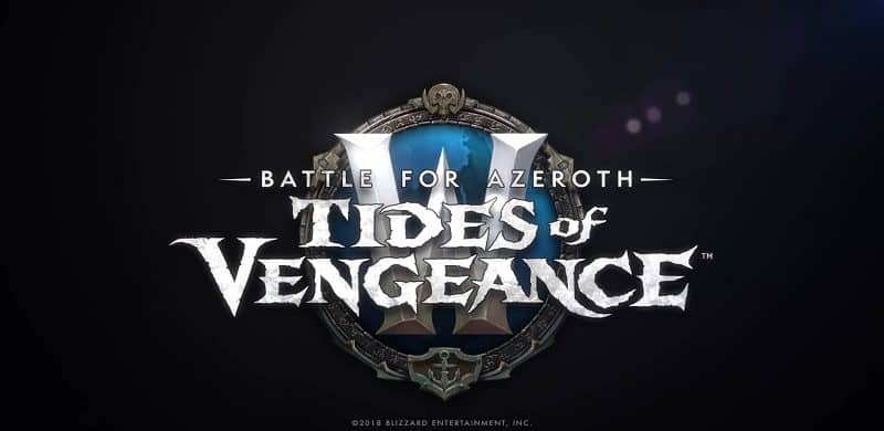 World Of Warcraft 8.1.0 Tides Of Vengeance Update Out Now