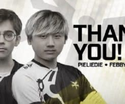 Dota 2 News: Mineski bid farewell to Febby and Pieliedie