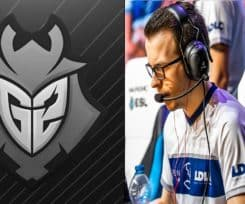 CSGO News: G2 Bench Bodyy, Add AmaNEk to Active Roster