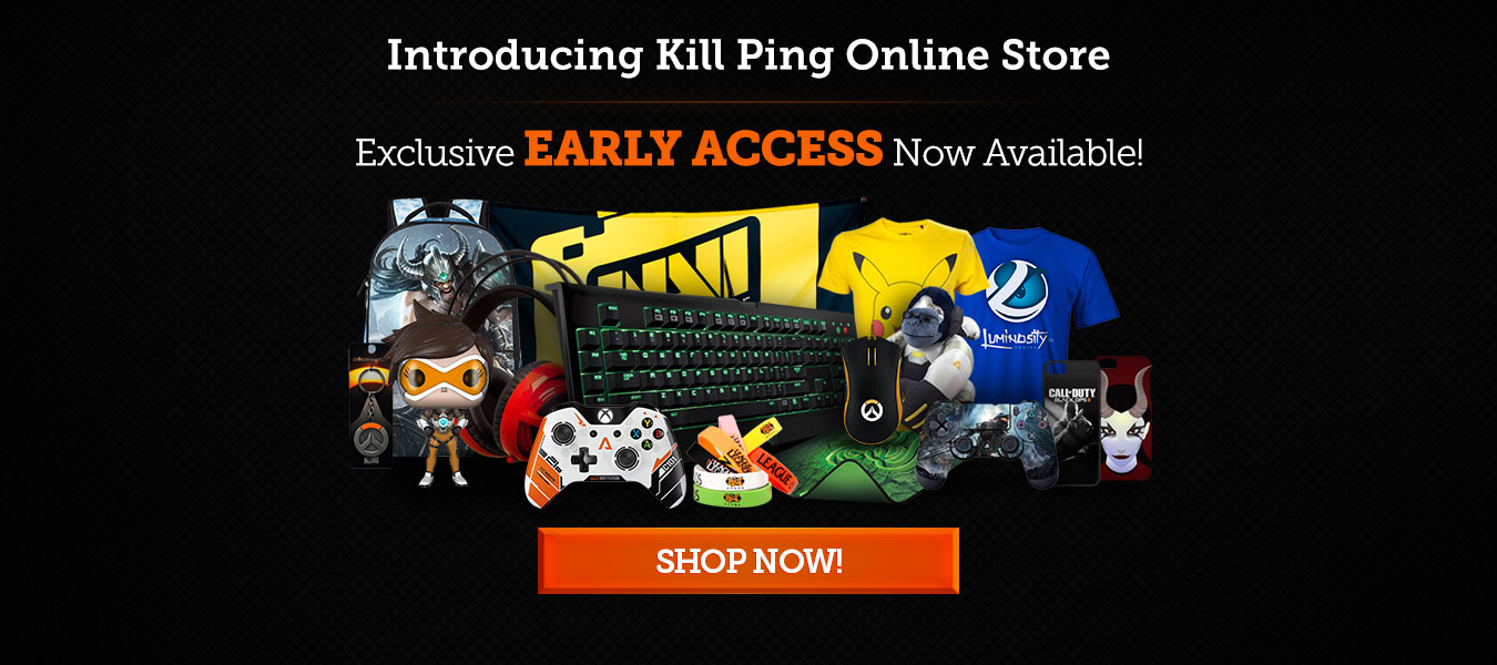Kill Ping Store Launch